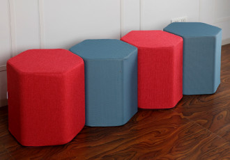 Hexagonal Pouf