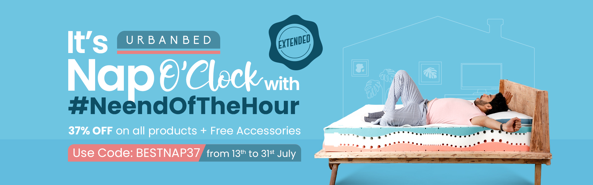 Neend of the hour extension
